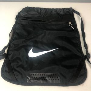 Nike draw string gym bag/small backpack